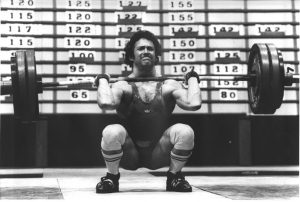 Leo Isaac at the 1980 Commonwealth Championships