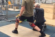 Hands on coaching the Jerk
