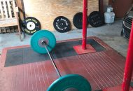Picture of a garage gym